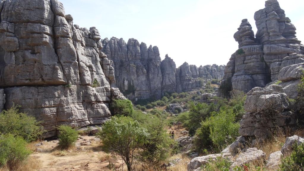 El Torcal et ses pierres karstiques