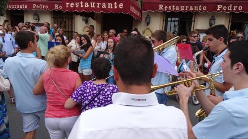 Musique et danse dans la rue