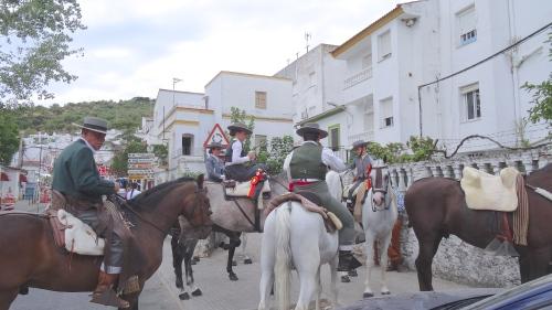 La cavalerie à Ubrique