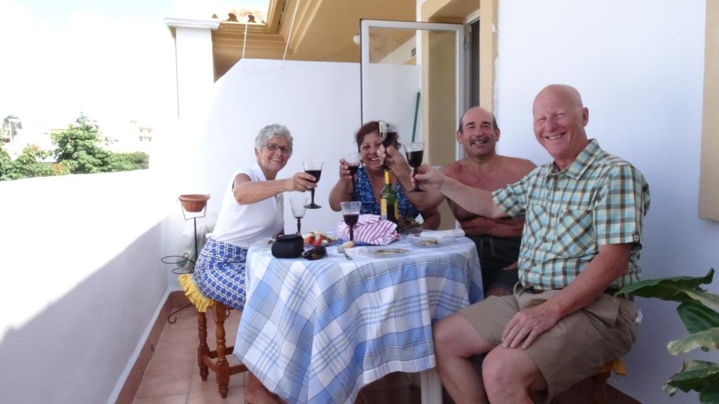 Fiesta chez Esther et Miguel