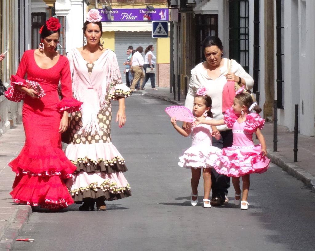 Costumes traditionnelles à la Fiesta de Ronda