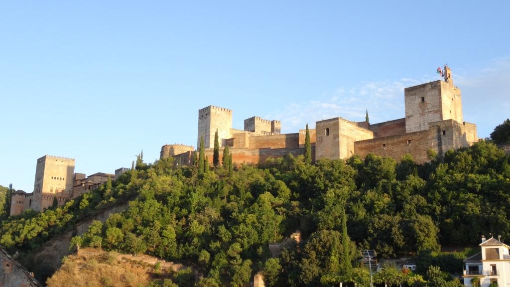 Vue de l'Alhambra du quartier Albaicín