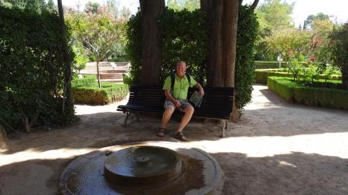 Les jardins paisibles et ombragés de l'Alhambra
