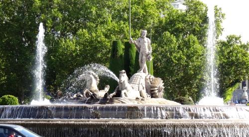 Fontaine dédié à Neptune, Dieu des Mers