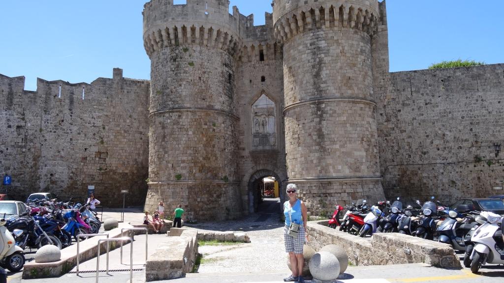 Porte de la Mer: entrée principale de la Cité médiévale de Rhodes