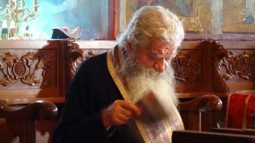 Prêtre grec du Monastère