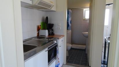 Cuisinette et salle de bain