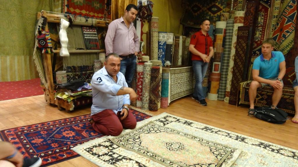Les marchands de tapis ...