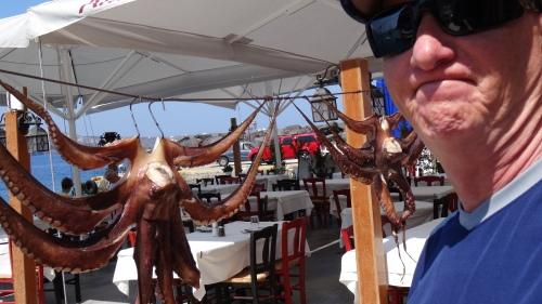 C'est bon la pieuvre ... mais pas beau !!