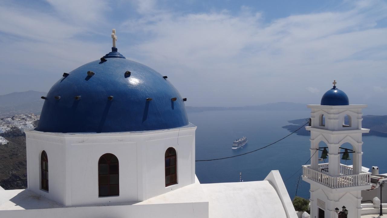 Santorini, Île de rêve!