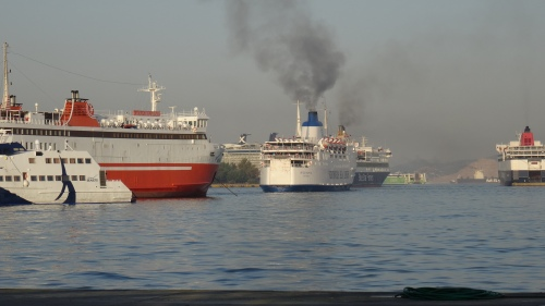 Port du Pirée, Athènes / Pireaus Port, Athens