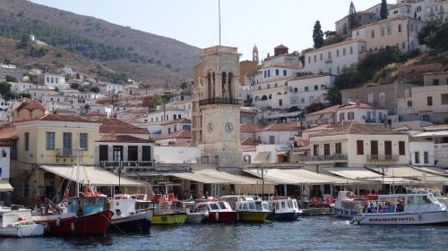 Tour de l'horloge, Hydra, Clock Tower