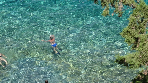 Mer cristalline / Crystal Clear Sea Color