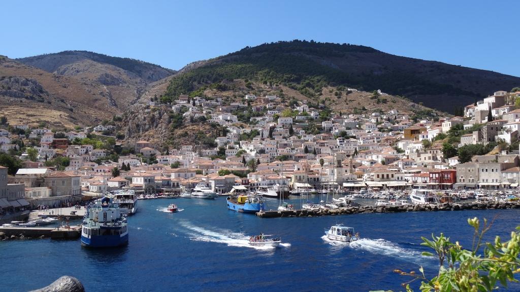 Village portuaire, Hydra, Port Village