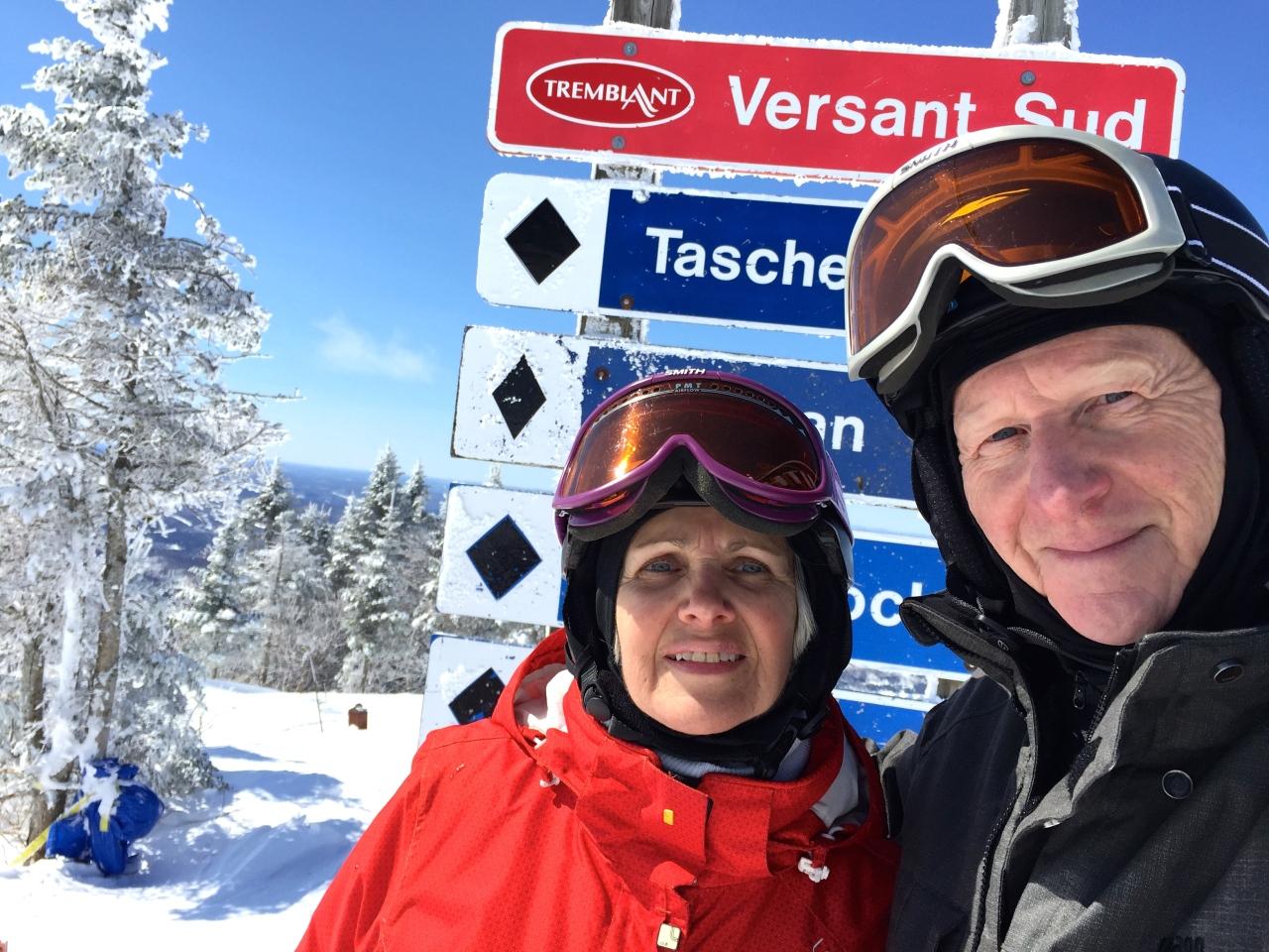 Saison de ski 2015 … frettt et blanc … comme un lavabo!!