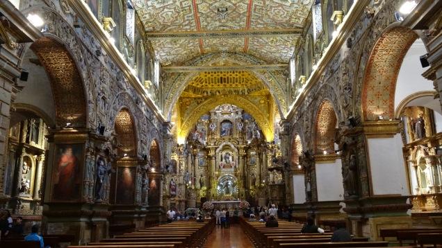 Eglesia San Francisco, estilo barroco