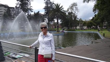 Parque El Ejido en el Centro