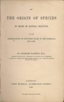 L'Origine des espèces / The Origin of Species