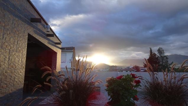 Les andes au coucher du soleil / Andes at sunset