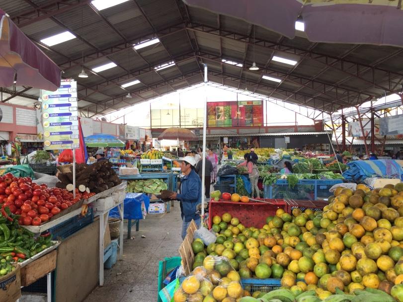 Fruits et légumes au marché public / Fruits and Vegetables at the Public Market