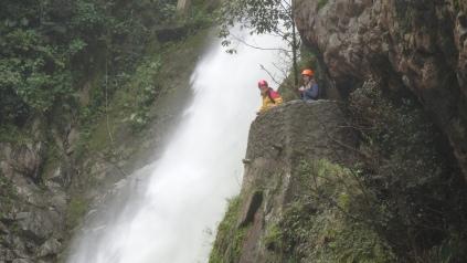 """Chute du """"Pailón del Diablo"""" Waterfalls"""