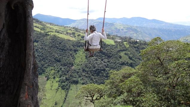 Se balancer dans le vide / Having a Swing into Space