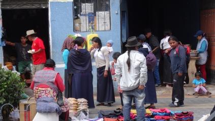 La population est majoritairement amérindienne Quechua / The Quechua AmerIndians are the majority