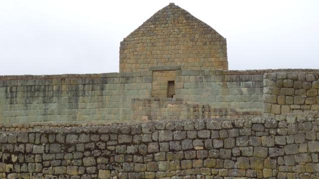Vestige du Temple du Soleil Inca / Ruins of the Inca's Temple of the Sun
