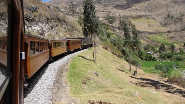 Le train touristique d'antan / Old Fashioned Touristic Train
