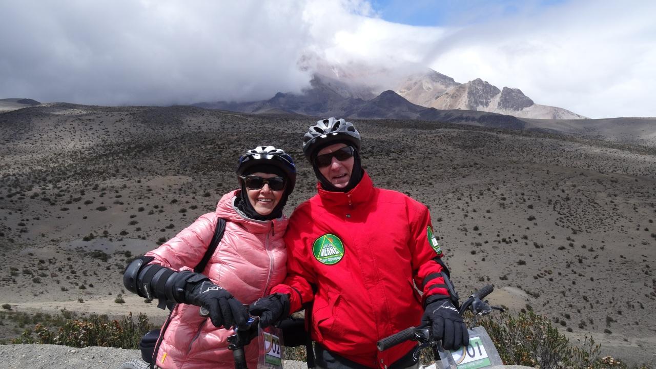 A la conquête du Chimborazo!
