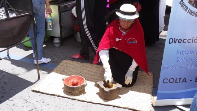 Préparation de pâte de piments / Peppers paste Preparation