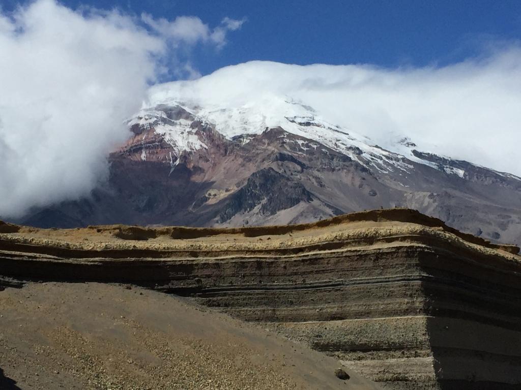 Les couches de lave du Chimborazo Lava Layers