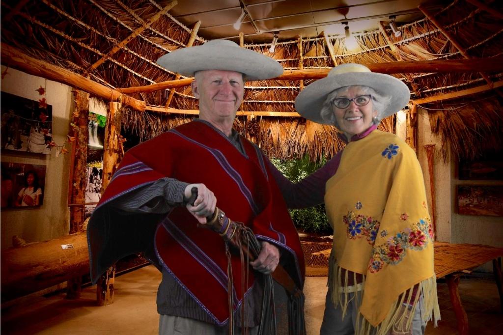 El Caballero Quechua y su Doña !