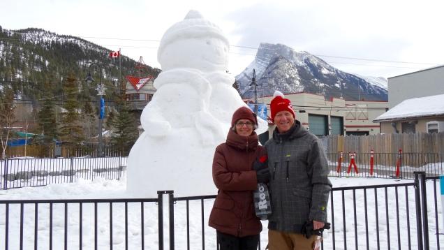 The Banff Interlude Ice Sculpture
