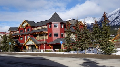 MountainView Building where we live for the ski season period