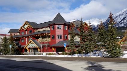 MountainView Building where we live for the ski season period