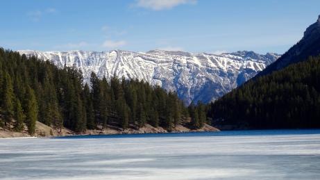 Minnewanka Lake near Banff