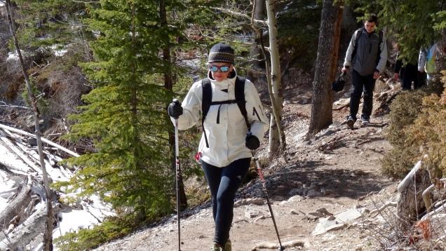 Hiking the Stewart Canyon Trail