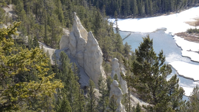 Hoodoos are a Soft Mix of Gravel, Sand and Rocks which Erosion Carves over Time