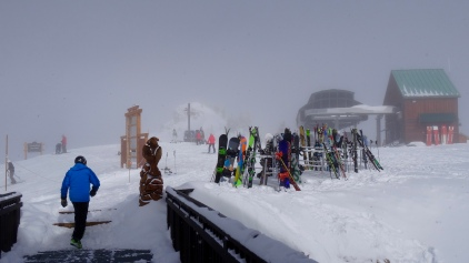 Blizzard at the Summit: Weather Changes very Quickly in High Altitude
