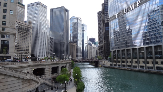 Dowtown Chicago River