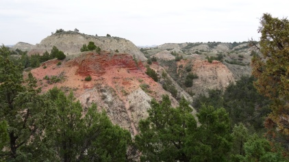 Badlands, Red Rocks, ND