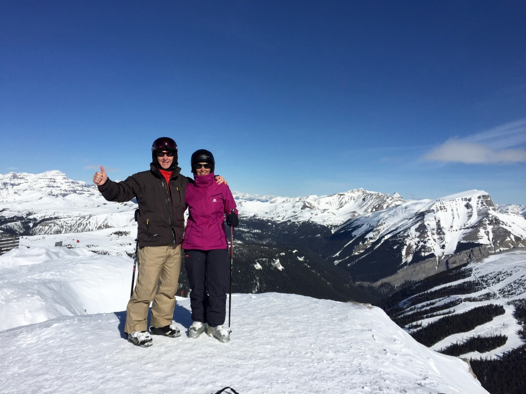 """Top of the World"" on the Lookout Mountain at Sunshine Village AB"