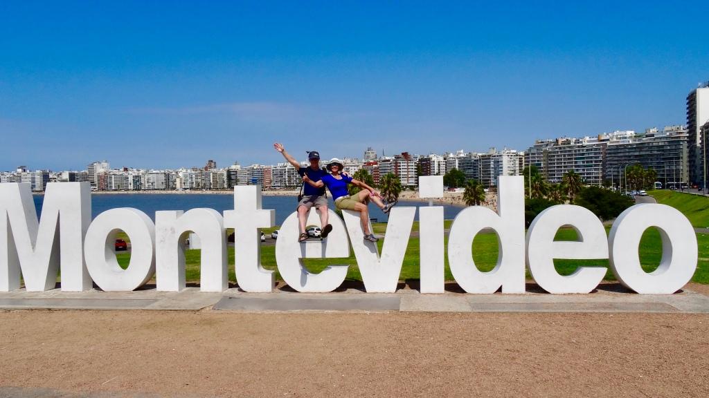 Letrero Montevideo