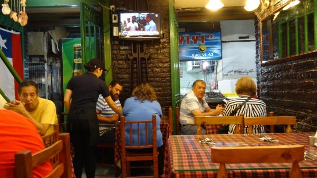 """Avons dîné au """"Tio Willy"""" du marché ... excellent, frais et copieux"""