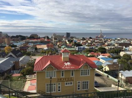 Punta Arenas sur le Détroit de Magellan