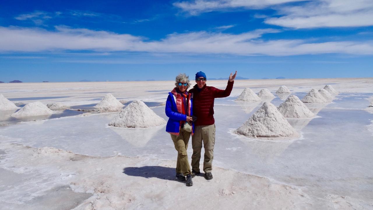 Salar de Uyuni,Bolivie