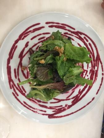 Salade aux betteraves