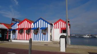 Maisons côtières d'Aveiro
