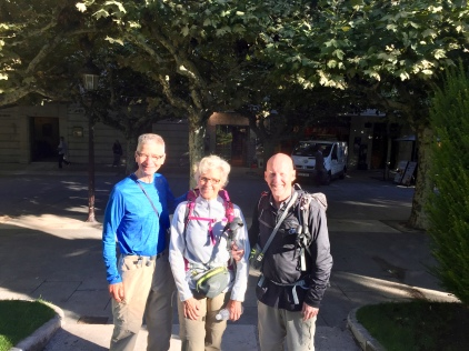 Gary from Calgary just retired and does walk the Camino to get fitness back